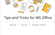 Tips and Tricks for MS Office - Word/Excel/Power Point