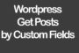 Wordpress Get Posts by Custom Fields