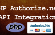 PHP Authorize.net API Integration