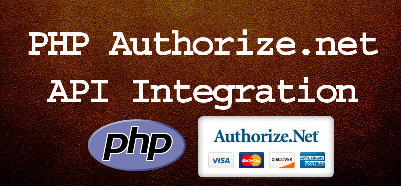 PHP Authorize.net API Integration