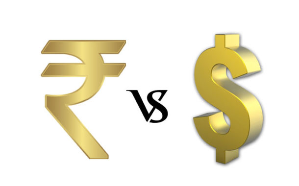 Value of USD to INR from 1947 till 2018