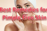 Best Remedies for Pimple Free Skin