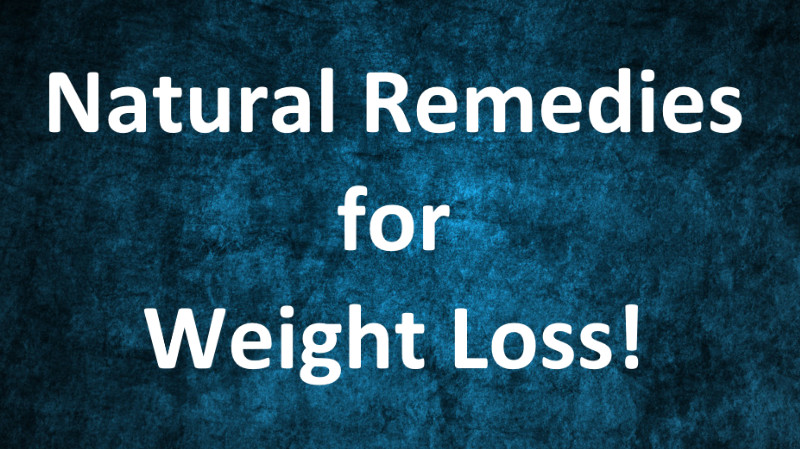 No Gym, No Strict Diet!, Only Weight Loss - Try These Natural Remedies