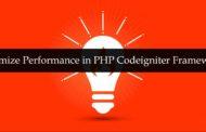 Optimize Performance in PHP Codeigniter Framework