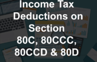 Income Tax Deductions Under Section 80C, 80CCC, 80CCD & 80D