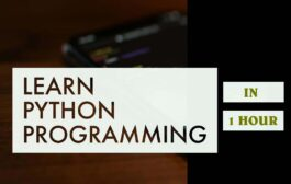 Learn Python Programming in One Hour - Video Tutorial