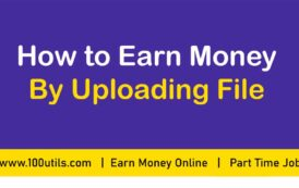 How to Earn Money By Uploading File | How to make 50 dollar a day