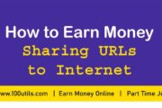Earn Money by Sharing URLs to Internet |  Best way to Make Money Online